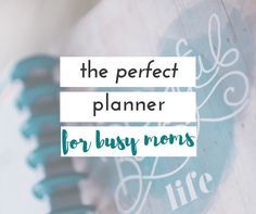 If you're looking for the perfect planner for busy moms, you are going to love this one!