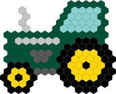 Hexabits Tractor Mini Projects School Kids, Tractors, Crafts For Kids, Education, Logos, Mini, Pattern, Projects, Art