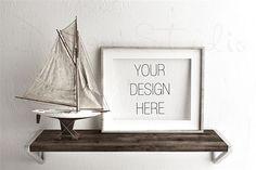 Styled Stock Photography-Wooden Frame Mockup | inphomarket