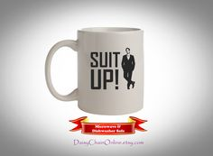 Suit Up Coffee Mug How I Met Your Mother by DaisyChainOnline