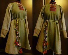 Inner tunic of the Skjoldehamn outfit. Reconstruction by Ekaterina Savelyeva.