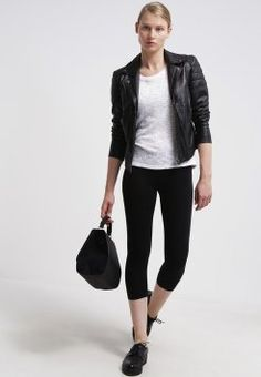 Zalando Essentials - 2 PACK - Leggins - black/dark grey