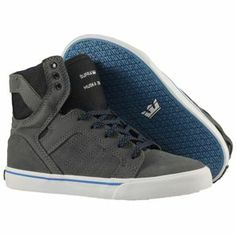 Produit en promotion  Baskets Supra Enfant - Kids Skytop Shoes Black/Battleship-White