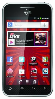 LG Optimus Elite Prepaid Android Phone (Virgin Mobile) - Click on the smartphone image to shop with us