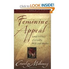 God used this book to start to change the way I viewed my role as a Christian woman. HIGHLY recommend.