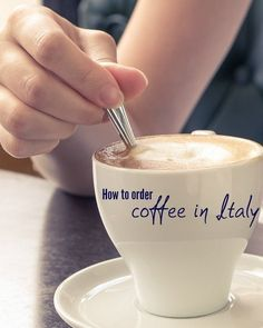 Learn how to order coffee like an Italian, rule #1 is never order an American and instead embrace Italian coffee.