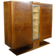 French Art Deco Cabinet / Armoire | From a unique collection of antique and modern cabinets at http://www.1stdibs.com/furniture/storage-case-pieces/cabinets/