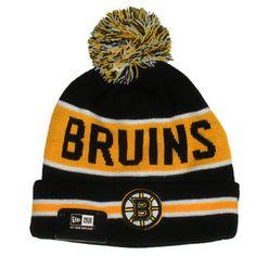 Boston Bruins New Era The Coach Knit Winter Pom Ski Hat Nhl Shop 9bb4fdd7212e