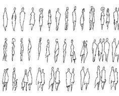 Résultats de recherche d'images pour « how to draw people in architecture drawings »