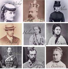 Queen Victoria's 9 Children Over The Years