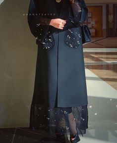 42 ideas for fashion outfits muslim Abaya Fashion, Muslim Fashion, Modest Fashion, Fashion Dresses, Modest Wear, Modest Dresses, Iranian Women Fashion, Womens Fashion, Modern Abaya