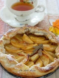 Super-easy Apple Tart, only 15 minutes & it´s done!