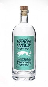 Tasted and still in my collection: Wicked Wolf Exmoor Gin from UK... AWESOME!!!