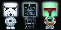 Star Wars Clock Lamp
