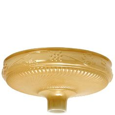 GLASS TORCHIERE SHADE, NUGOLD, EMBOSSED W/GRAPES Glass Shades
