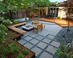 Popular of Modern Landscaping Ideas Horsetail Reed Garden Landscaping Ideas Modern Patio Design Ideas - If you are thinking regarding basic landscape desig Modern Backyard Design, Modern Landscape Design, Backyard Patio Designs, Small Backyard Landscaping, Modern Landscaping, Landscaping Ideas, Patio Ideas, Garden Ideas, Outdoor Ideas