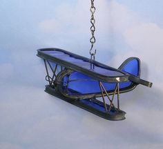 Stained glass airplane, Airplane suncatcher, Airplane decoration, Decorative airplane, Home decor,Airplane decor on Etsy, $45.00