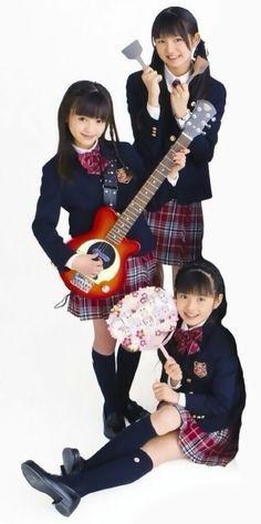 Su, Yui, and Moa of Sukura Gakuin