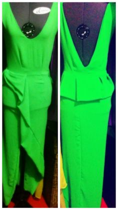 Buibui #greendressonthemannequin