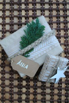 my christmas gifts presents wrapping, rustic chrismas packaging