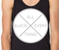 ALL BLACK EVERYTHING (white)