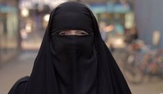 Niqabi Woman