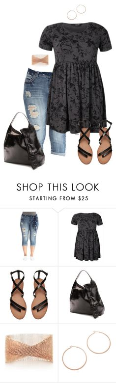 """""""What I wore- plus size"""" by gchamama ❤ liked on Polyvore featuring Kate Spade, Elsa Peretti and Jennifer Zeuner"""