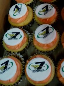 zimbabwe rugby 7's cupcakes for kids with cancer at Parri hospital.