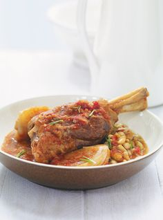 Recette de braisé de jarrets d'agneau aux tomates et au fenouil de Ricardo…