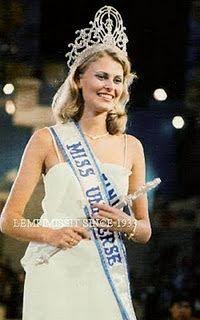 Anne Marie Pohtamo - Finândia Miss Universo 1975 -