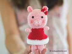 Piggy Bun AmigurumiFree Pattern Buns, Amigurumi and Free Pattern