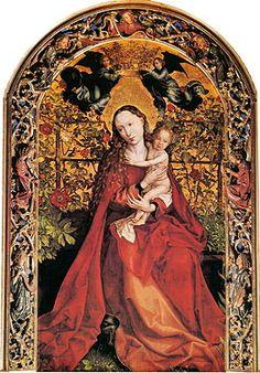 Martin Schongauer Madonna in Rose Garden.jpg