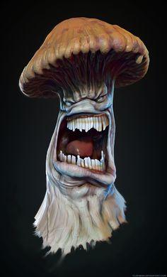 ArtStation - Infected Mushroom, Thomas Lishman
