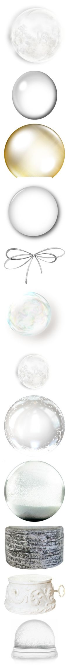 """""""Christmas snow globe"""" by suelb ❤ liked on Polyvore featuring effects, backgrounds, bubbles, circles, frames, round, borders, circular, picture frame and shadows"""