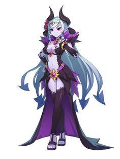 KOG、新作RPG『グランドチェイス -次元の追跡者-』のコンセプトアートを公開 事前登録も募集中   Social Game Info Fantasy Character Design, Character Concept, Character Inspiration, Character Art, Fantasy Characters, Female Characters, Anime Characters, Fantasy Anime, Fantasy Girl