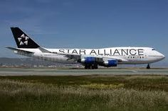 United Airlines B747, Star Alliance livery (Chicago)