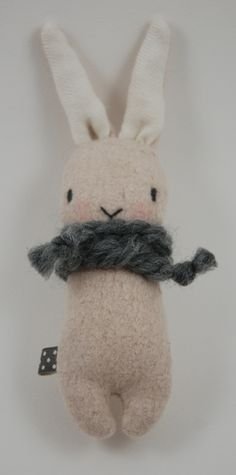 adorable stuffed bunny