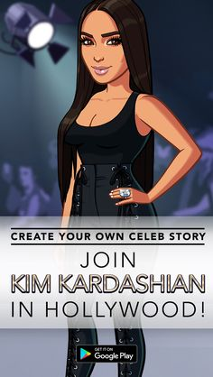 Be a star when you download Kim Kardashian: Hollywood for free today! Join Kim K and star in a huge interactive adventure as you encounter other celebs, dedicated fans, persistent paparazzi. Take over L.A. in style and download the game on the App Store today.