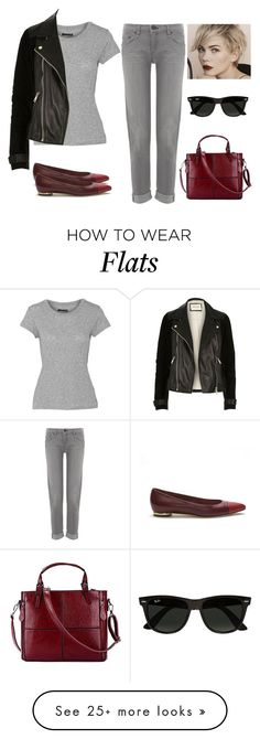 """""""Untitled #1336"""" by cheresh on Polyvore featuring rag & bone, Louis Vuitton, Chanel, River Island and Ray-Ban"""