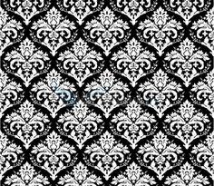 Vintage Wallpaper Seamless Pattern | ... Backgrounds - ornamental vector background - seamless baroque pattern