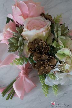 DIY Succulent Bouquet