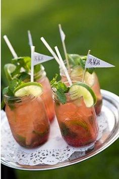 Ideas para barra de Mojitos