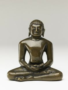 Figure of a Tirthankara, or Jain saviour south Deccan, 10th century (AD 901 - 1000)