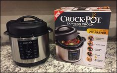 If you're looking for a holiday gift for the home this season, the Crock-Pot Express Crock Multi-Cooker is top of our list!