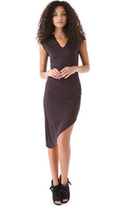 HELMUT Angle Hem Dress