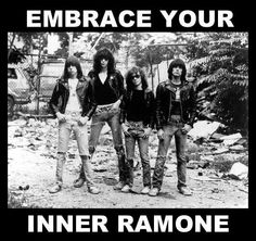 Ramones were a punk rock band that formed in Queens, New York, United States, in They are often cited as the first punk group. Despite achieving only limited commercial success, the band was a m. Joey Ramone, Ramones, Johnny Rotten, Punk Rock, Costume Punk, Creepers, Beatles, Rock N Roll, New York