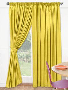 Spectrum Lemonade Curtains