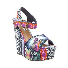LOVE fashion, style, steve madden, rock, wedges, polyvore, new shoes, madden winonna, madden wedg