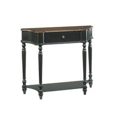"""Hammary Furniture  HIDDEN TREASURES :: CONSOLE TABLE 090-350 demilune table behind sofa.  36""""WX12""""DX31""""H.  List price 405.00$/discount price 243.00$.  IN STOCK AT SUPPLIER."""