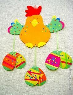 Пасхальные поделки с детьми. / Болталка / Интересные идеи для вдохновения Art For Kids, Crafts For Kids, Arts And Crafts, Kids Corner, Illustrations And Posters, Craft Activities, Easter Crafts, Holidays And Events, Classroom Decor